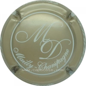 capsule champagne Decotte Michel Initiales MD