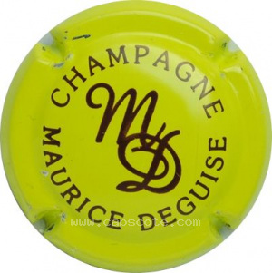 capsule champagne Deguise Maurice Série 05 Initiale MD