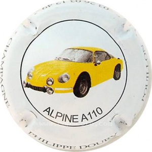 capsule champagne Doury Philippe Série 06 Alpine Renault