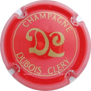 capsule champagne Dubois - Cléry  Initiales