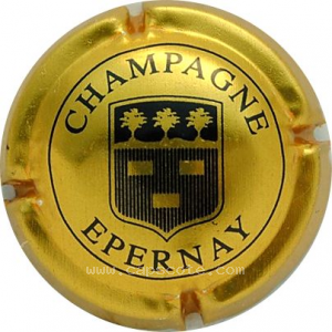 capsule champagne Epernay Série 5 - Ecusson