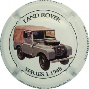 capsule champagne Moreau Barre Land rover