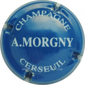 capsule champagne Morgny A. Nom horizontal