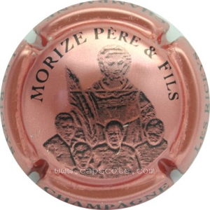 capsule champagne Morize 5 personnages