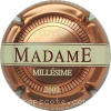 capsule champagne Cuvée Madame