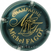 capsule champagne Double initiale MF