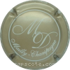 capsule champagne Initiales MD